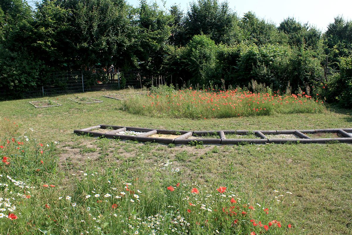 Garten der Helene von Forster Schule Nürnberg