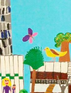 Schülerzeichnung Helene von Forster Grundschule